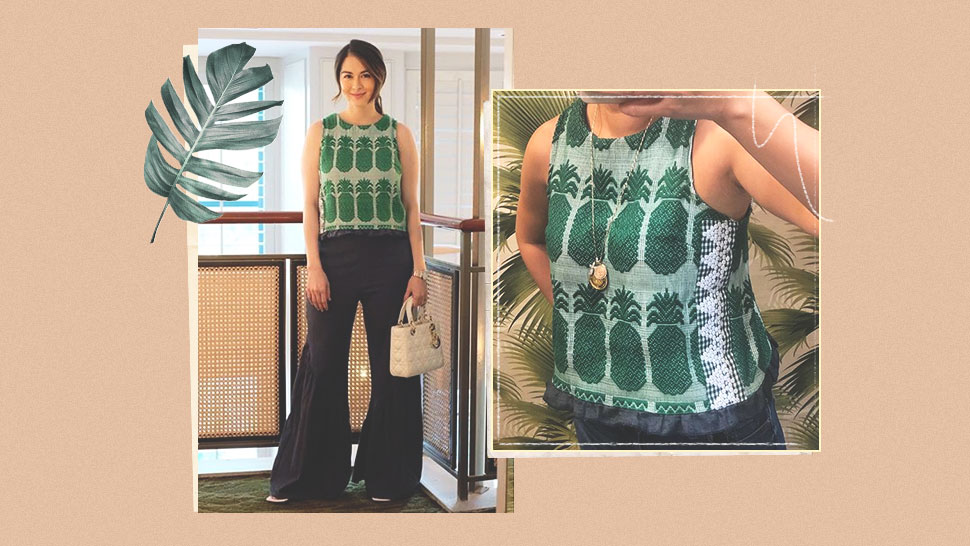 We Found the Exact Woven Top Marian Rivera Wore in This OOTD
