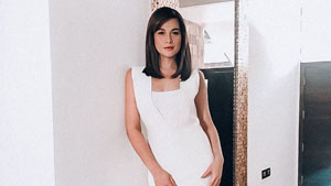 Bea Alonzo Was A Vision In White For The Press Con Of Her New Drama Series