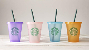 Starbucks Just Released These Colorful Reusable Cups And We Are Obsessed