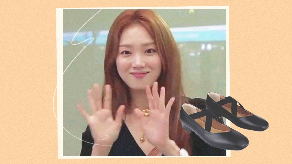 We Found The Exact Shoes Lee Sung Kyung Wore Going To Manila