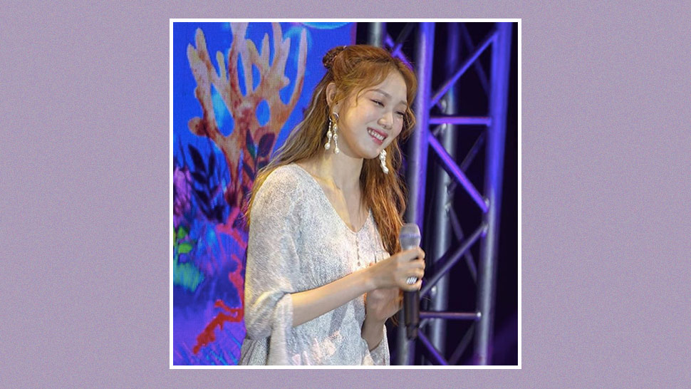 Lee Sung Kyung Looks Fresh And Dainty In A Mini Dress At Her Manila Fan Meet