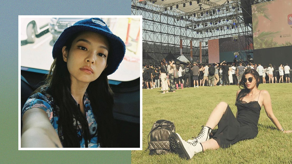 Anne Curtis Just Saw Jennie Of Blackpink At A Music Festival In Korea