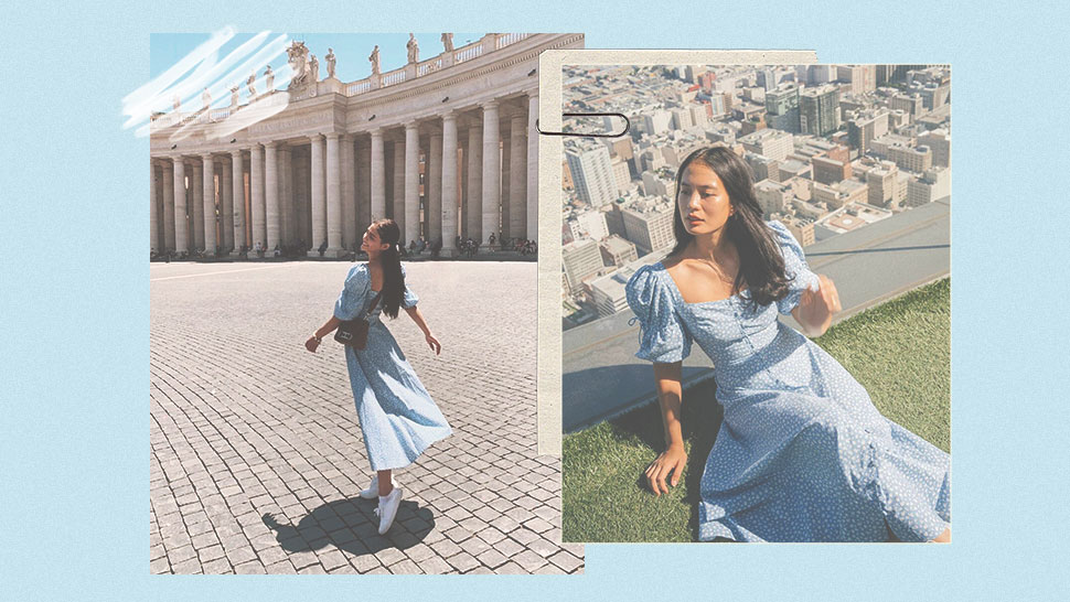 You Have To See Lsabelle Daza And Lovi Poe's Matching Baby Blue Dress