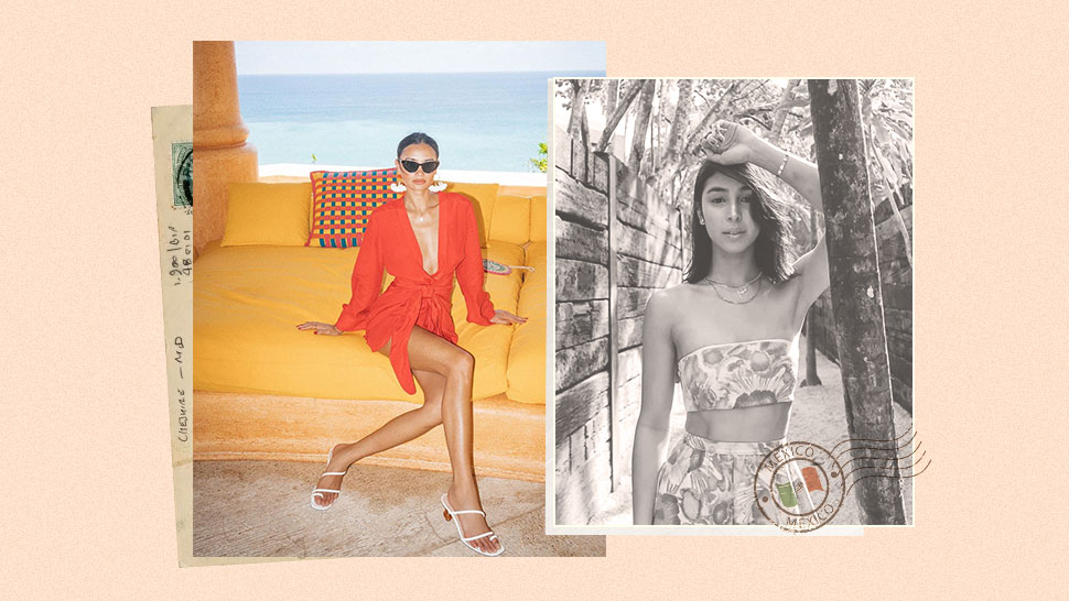 These Stylish Celebs Will Make You Want to Fly to Mexico Right Now