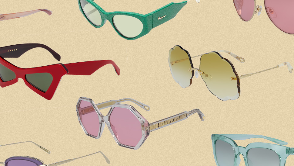 25 Colored Sunglasses That Will Instantly Elevate Your Ootds