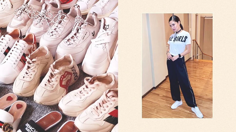 You Have To See Kim Chiu's Insane Collection Of Sneakers