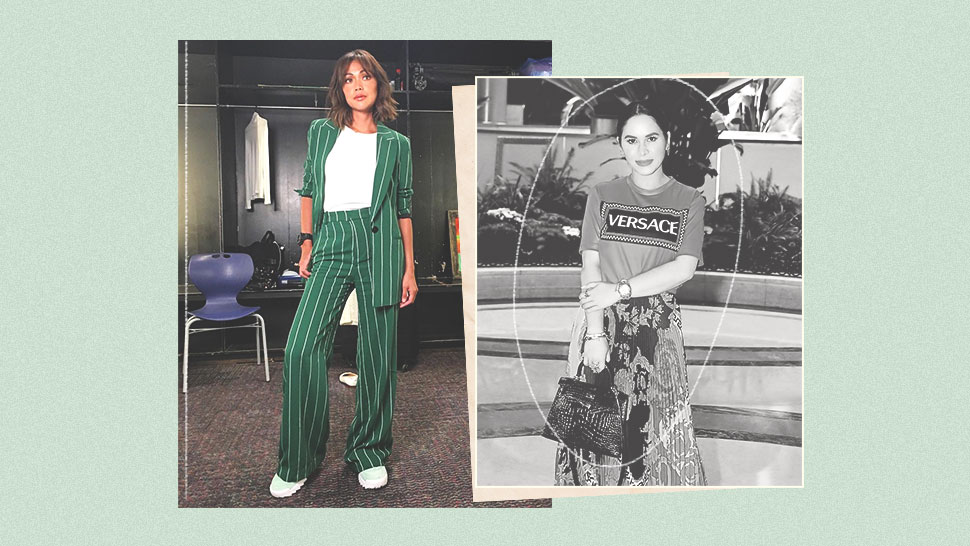 These Celebs Are Proof That You Can Wear a T-Shirt to a Dressy Affair