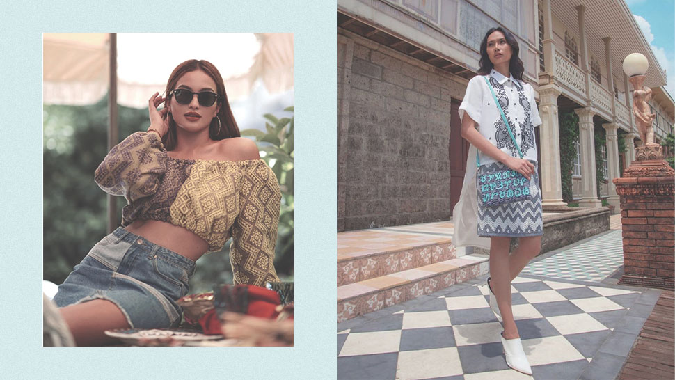 Here Are Cool Ways To Style Local Weaves And Filipiniana For Your Ootds