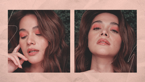 We're Totally Copying This Peachy Makeup Look From Bea Alonzo
