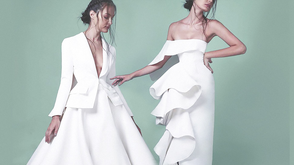 10 Bridal Designers for a Minimalist Wedding Gown