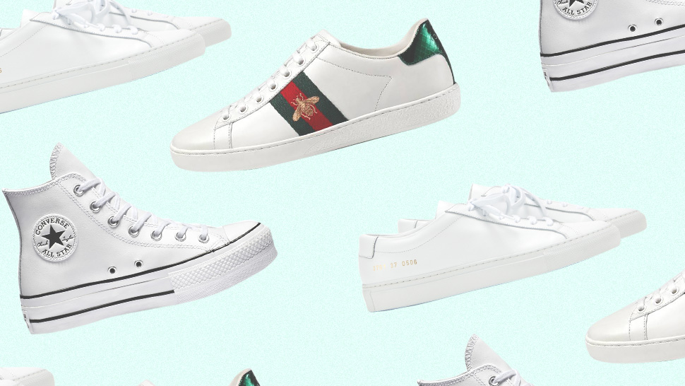 The Different Types Of White Sneakers And How To Care For Them