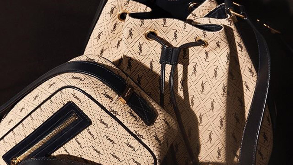You'll Love These New Canvas Monogram Bags From Saint Laurent