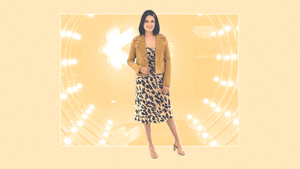 Yam Concepcion Has An Easy Way To Style A Leopard Print Dress