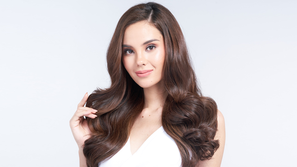 Catriona Gray Will Change The Way You Brush Your Hair