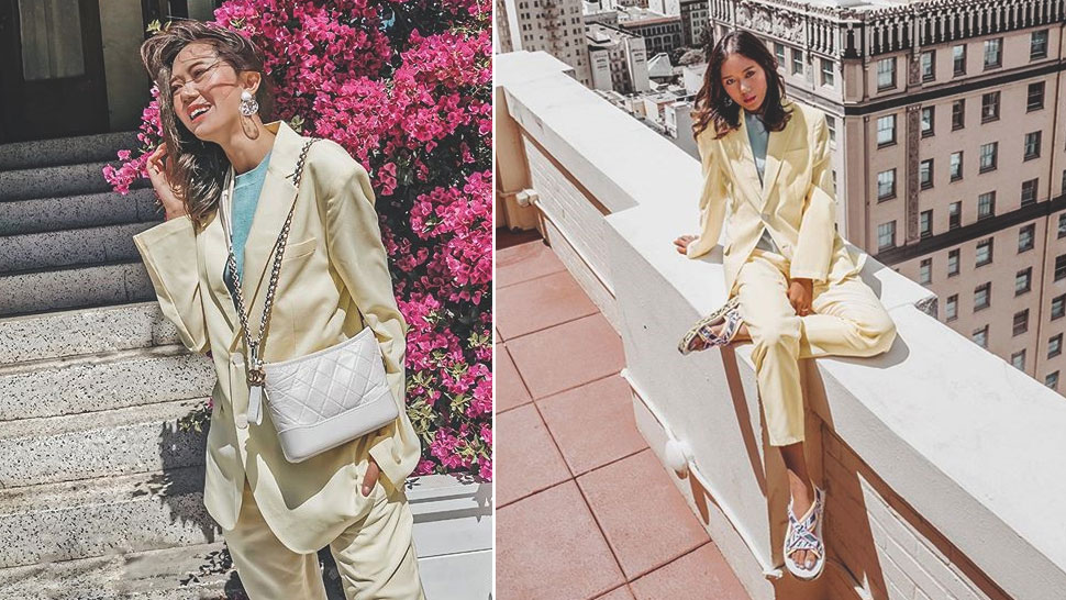 Camille Co Will Convince You To Wear A Bright Colored Suit