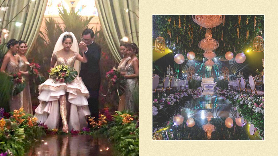 "This Stylist Recreated The Iconic Wedding Aisle From ""crazy Rich Asians"""