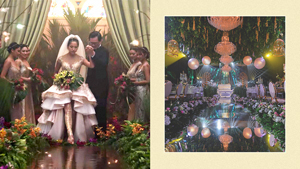 This Stylist Recreated The Iconic Wedding Aisle From
