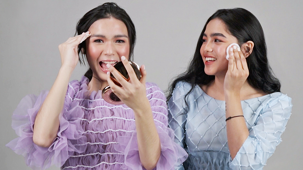 Andrea Brillantes And Francine Diaz Were The Funniest While Removing Their Makeup