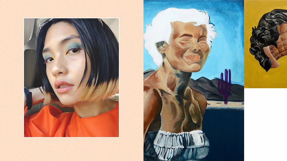 This Filipina Artist Learned to Paint Faces By Putting on Makeup
