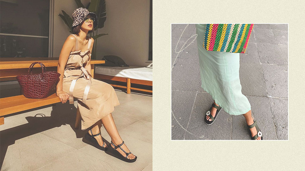 The Cool Girls of Instagram Are Trying to Make Velcro Sandals Happen