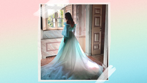 You Have To See This Magical, Cinderella-like Gown By Monique Lhuillier