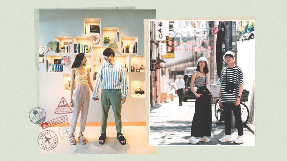Maxene and Rob Mananquil's Matching Couple OOTDs in Tokyo Are Too Adorable