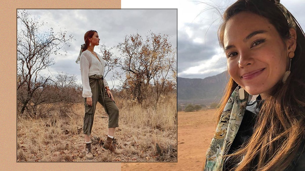 You Have To See Catriona Gray's Safari Chic Ootd In South Africa