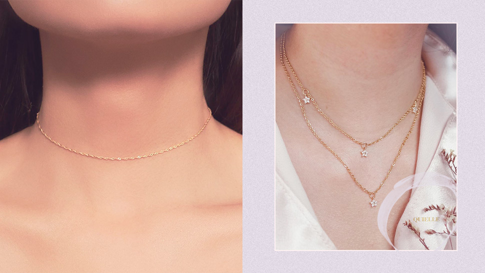 8 Dainty Choker Necklaces That Are Perfect For Layering