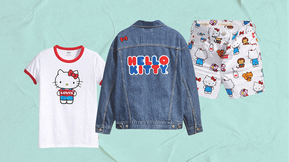 We're Obsessed with These Hello Kitty-Themed Jeans and Denim Jackets