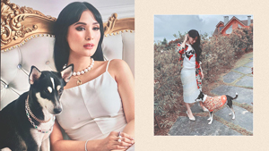 How To Dress Up Your Pet, As Seen On Heart Evangelista's Dog, Panda