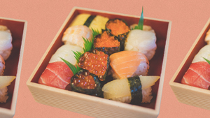 Fyi, The Plastic Grass In Your Takeout Sushi Is Not For Decoration