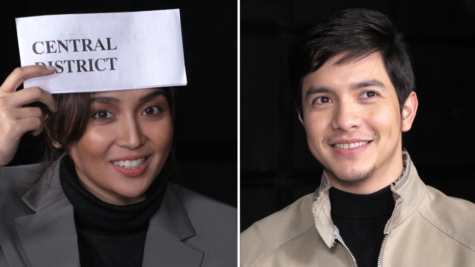 Alden Richards and Kathryn Bernardo Are Too Cute Playing Pinoy Henyo