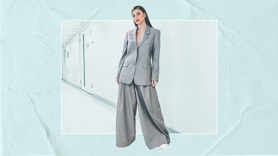 Anne Curtis Shows You Exactly How To Wear An Oversized Suit