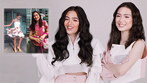 Andrea Brillantes And Francine Diaz Reacting To Their Old Ootds Is Hilarious