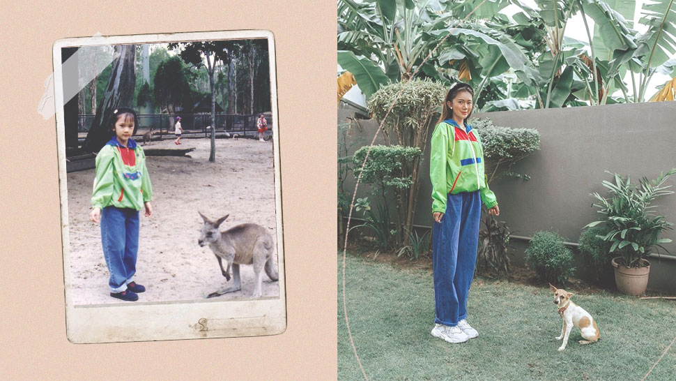 You Have to See How Camille Co Recreated This '90s Photo