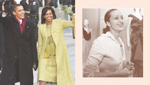 3 Iconic Michelle Obama Outfits Made By The Late Designer Isabel Toledo