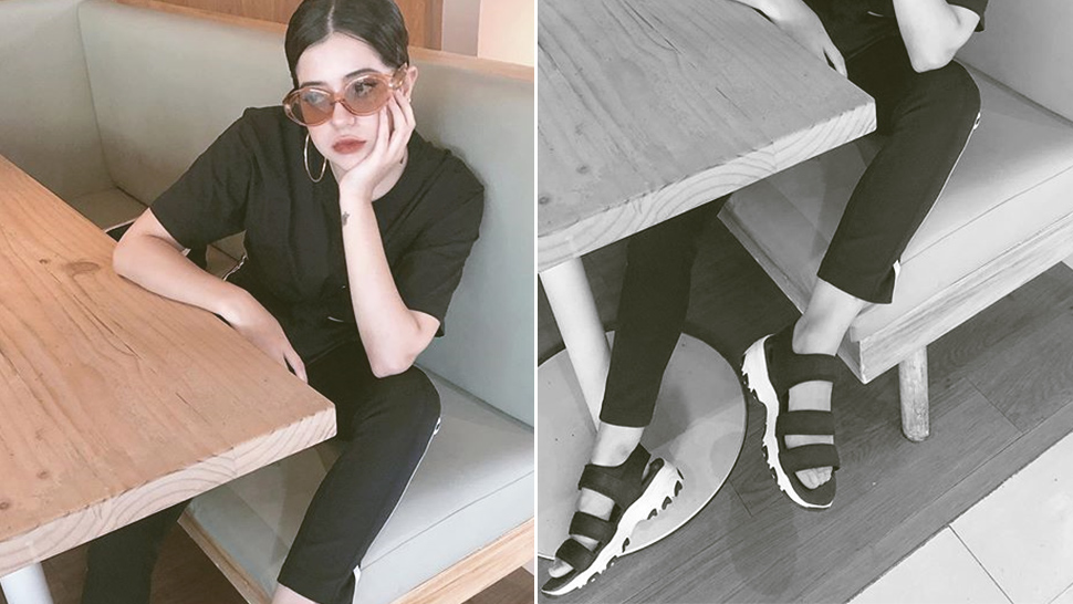 "Sue Ramirez Has The Easiest Way To Style The ""ugly Sandals"" Trend"