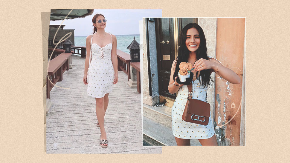 You Have To See Lovi Poe And Elisse Joson's Matching Little White Dress