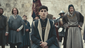 Timothee Chalamet Plays A Young King In His New Netflix Movie