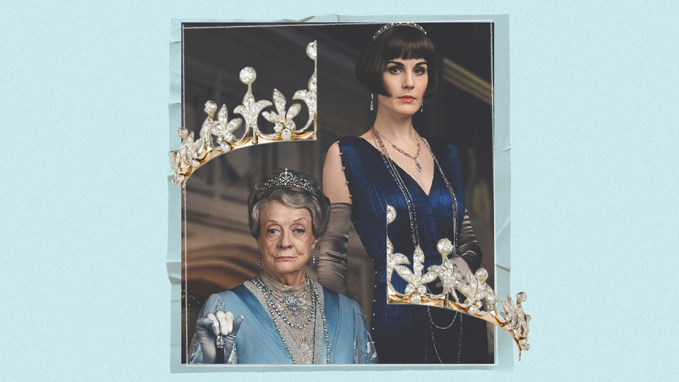 "You Have To See The Diamond Tiaras In The ""downton Abbey"" Film"