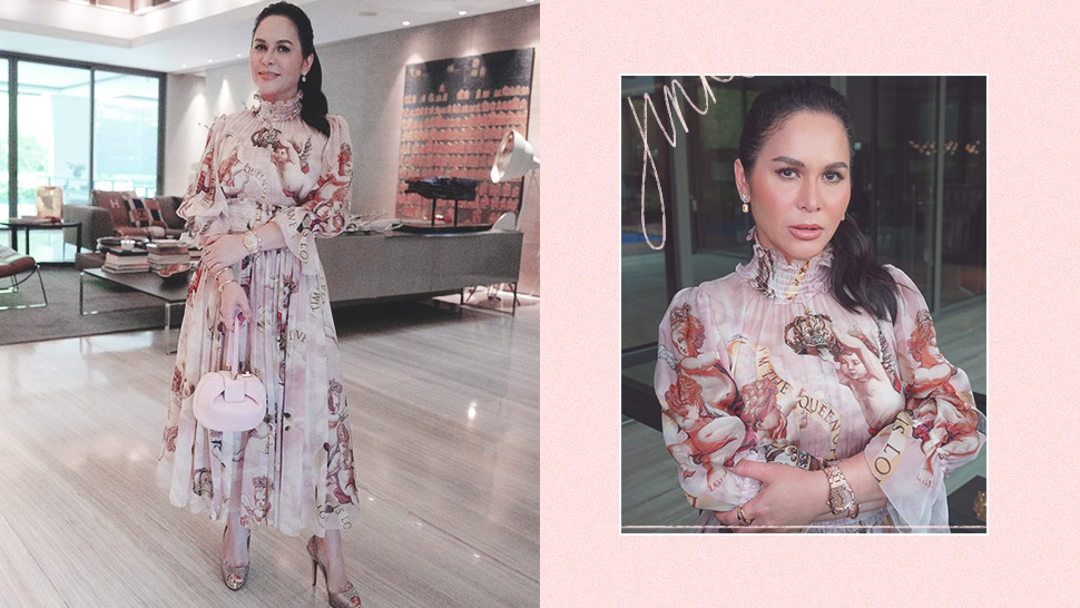We Found The Exact Dolce & Gabbana Dress Jinkee Pacquiao Recently Wore