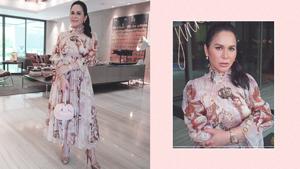 We Found The Exact Dolce & Gabbana Dress Jinkee Pacquiao Recently Wore