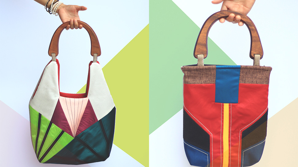 You Won't Believe That These Bags Are Made from Recycled Fabrics
