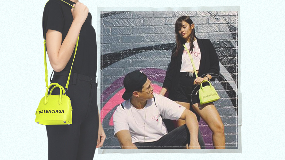 This Is the Neon Yellow Designer Bag Liza Soberano Is Loving Right Now