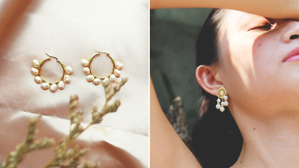 These Dainty Pearl Earrings Will Add an Elegant Touch to Your Outfits