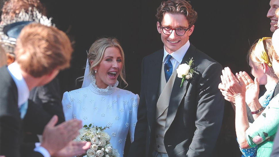 You Have to See Ellie Goulding's Prim, Bespoke Chloe Wedding Gown