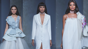 Albert Andrada's New Collection Is Making A Case For The White Dress