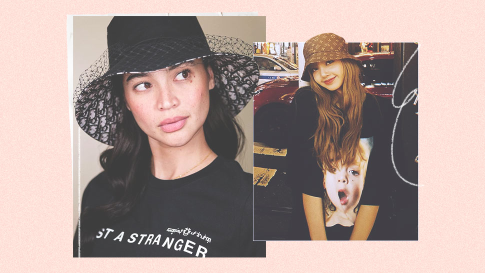 These Stylish Girls Are Making Logo Bucket Hats Happen