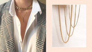 Chain Necklaces Are Popular Again And Here's Where You Can Buy Them