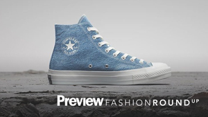You Have To See These Converse Sneakers Made Out Of Recycled Denim